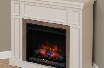 Semineu electric ClassicFlame Newcastle, Antique White