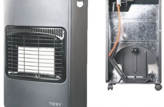 Soba pe gaz TESY LD 168D, 4200 W, 3 trepte de putere