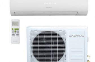 Aparat de aer conditionat Daewoo DSB-F0981ELH-VK Inverter, 9000 BTU, Clasa A++