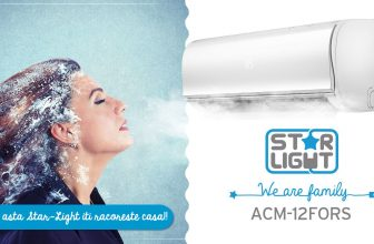 Aparat de aer conditionat Star-Light ACM-12FORS, Inverter, 12000 BTU, Clasa A++