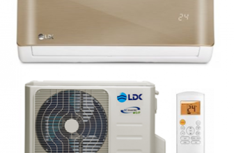 Aer conditionat LDK DeLuxe 12 GOLD, Full DC Inverter, Clasa A++, 12.000 BTU